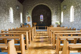 Kostel v neděli — Stock fotografie