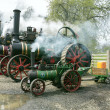 ANTRIM, NORTH IRELAND, 06-05-2013 Vintage traction engine rally — Stock Photo
