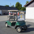 The golf cart — Stockfoto