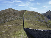 Slieve Donnard the highest mountain in North Ireland — Stock Photo