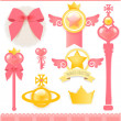Princess Collection — Wektor stockowy #28377391
