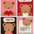 Valentine Card — Stockvektor #28377407