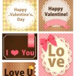 Valentine Card — Vector de stock #28377423