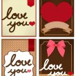 Valentine Card — Stock Vector #28377429