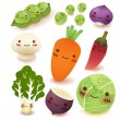 Fruit and vegetable Collection — Stock Vector #28378401