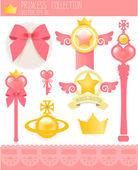 Princess Collection — Stock Vector