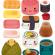 Sushi Collection — Stock Vector #28381551