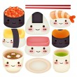 Sushi Collection  — Stock Vector