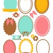 Cute Vintage Border — Stock Vector #28381847