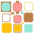 Cute Vintage Border — Stock Vector #28381919