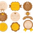 Set of high quality badge — Stock Vector #28382969