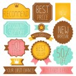 Set of Premium and High Quality labels — Stock Vector #28383993
