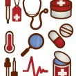 Medical and Health care Icon — Stock Vector