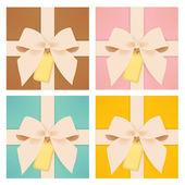 可爱礼品盒 — 图库矢量图片