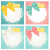 Cute gift box — Stockvektor