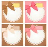 Cute gift box — Vector de stock