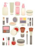 Collection of Chic makeup Icon — Stock Vector