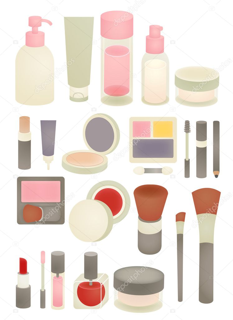 Makeup Icon Vector Collection of Chic Makeup Icon Vector File Eps10 Vector by Anpannan