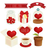 Valentine  Wedding  icon — Stock Vector