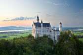 Castle neuschwanstein in germany — Stock Photo