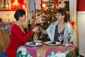 Christmas dinner — Stock Photo