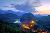 Castle Hohenschwangau, Bavaria, Germany. — Stock Photo