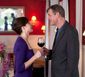 Para na romantyczne spotkania — Zdjęcie stockowe