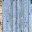 Old window shutters, closed — Stock Photo