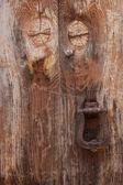 Gamla dörr detalj — Stockfoto