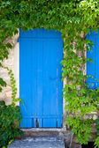 Aged mediterranean door — Stock Photo