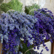 Bunches of lavender flowers — Stock Photo #44789059