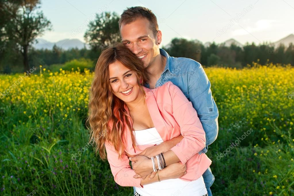 Couple hugging tightly   Stock Image. Couple hugging tightly   Stock Photo   belahoche  46931647