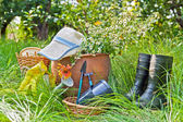 Gardening equipment — Stock Photo