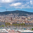 Barcelona panoramic — Stock Photo