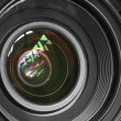 Camera lens background — Stock Photo