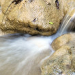 Water flow on stone — Stock Photo