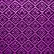 Stock Photo: Purple diamond pattern fabric