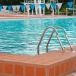 Stock Photo: Swimming pool with stair