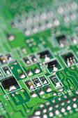 Electronic PCB background — Stock Photo
