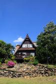 日志木房子 — 图库照片