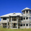Stock Photo: Unfinished house