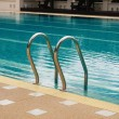 Stair, swimming pool — Stock Photo