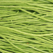 Long green beans background  — Stock Photo