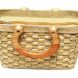 Stock Photo: General bamboo Handbag
