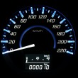 Car speedometer — Stock Photo #32449111