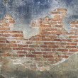 Old brick block wall — Stock Photo