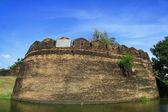 History fortress ,Chiang Mai, Thailand — Stock Photo