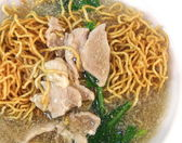 Close up fried noodle, Thai food — Stock Photo