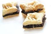 Chocolate pie ,dessert — Stock Photo