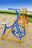 Bicycle Play ground — Stock Photo